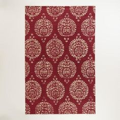 One of my favorite discoveries at WorldMarket.com: 5'x8' Marielle Rust Medallion Jute Area Rug