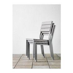 FALSTER Chair - gray - IKEA