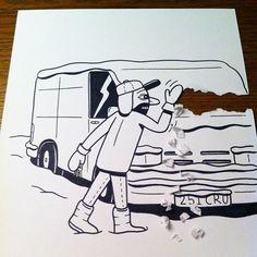 HuskMitNavn donne vie à ses dessins