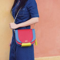 Saddle Bag Amy - Classy Meets Modern. Bag is handcrafted from luxury materials. Every bag is unique, exclusively produced for each customer. Get your saddlebag on www.dizaindbags.com  #dizaind #dizaindbags Saddle Bags, Amy, Style Me, Classy, Luxury, Unique, Instagram Posts, Modern, Fashion