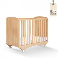 Convertible baby cot Zoom by Pali with storage space Baby rooms