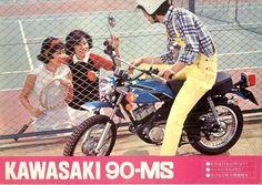 Kawasaki 90MS