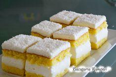 Romanian Desserts, Cake Recipes, Dessert Recipes, Food Cakes, Cornbread, Feta, Smoothies, Sweet Treats, Cheesecake