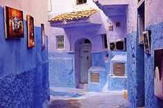 Marokko: Chefchaouen bergdorp in het noordoosten van Marokko