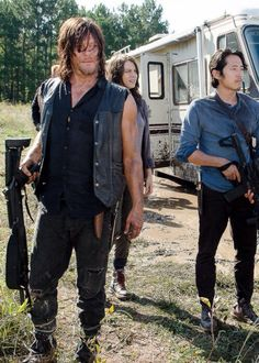 the walking dead, season 6, episode 11, knots untie