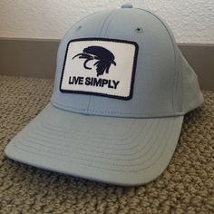Patagonia live simply fly fishing hat so fresh and clean. Patagonia Accessories Hats