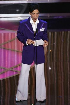 A Look at Prince's Sexy 4-Decade Style Reign: February 27, 2005