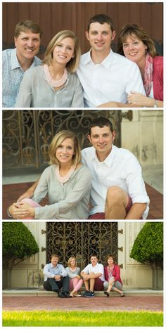 Adult family portraits, family portrait ideas, family picture poses, pose, adult siblings, family session, downtown