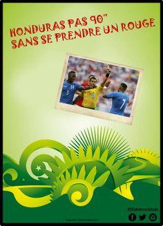 Fact. #coupedumonde #worldcup #bresil2014 #francehonduras #equipedefrance