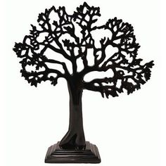 New Tree of life, jewellery stand, Black finish, art, great gift idea