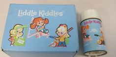 Liddle Kiddles Lunch box and Thermos ~