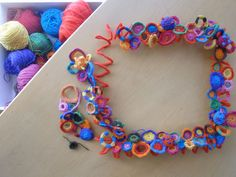 """""""If anything I enjoyed crocheting motifs on changing colors..."""" Ammit exblog jp"""