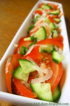 Achick-chuck aka Uzbek summer salad