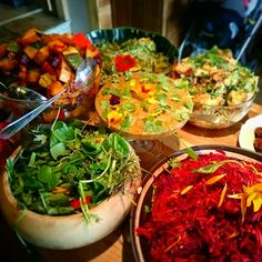 Beautiful salads #organic #delicious #vegan #food