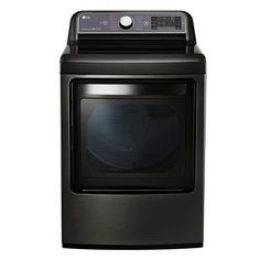 LG Electronics 7.3 cu. ft. Gas Dryer with Turbo Steam in Black Stainless-DLGX7601KE - The Home Depot