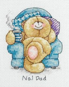 Forever Friends No.1 Dad Cross Stitch Kit £11.00   Past Impressions   Anchor
