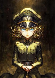 Tanya Degurechaff-Saga of Tanya the EvilYou can find Anime and more on our website.Tanya Degurechaff-Saga of Tanya the Evil Female Characters, Anime Characters, Guerra Anime, Tanya Degurechaff, Tanya The Evil, Anime Military, Fanarts Anime, Best Waifu, Manga Games