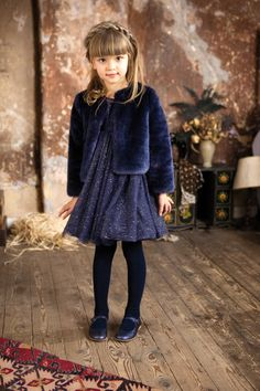 @ilovegorgeous Glitter Priscilla Dress & Midnight Faux Fur Jacket #aw15 #collection #ilovegorgeousfaves #coats