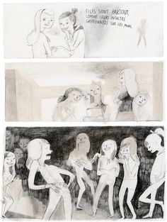 Illustrations by Isabelle Arsenault – from 'Jane, le renard & moi / Jane, the fox & me' (written by Fanny Britt)