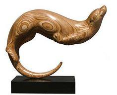 Otter, laminated plywood. www.billprickett.co.uk