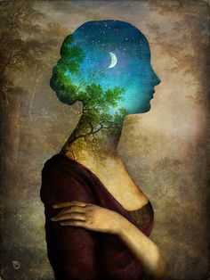 'A Midsummer Night's Dream' by Christian  Schloe on artflakes.com as poster or art print $20.79