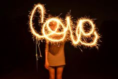 We Tried This . . .: How to take pictures of sparkler images/words