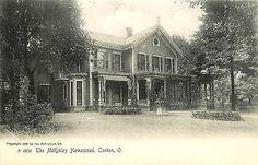 Canton Ohio OH 1905 President McKinley Homestead Rotograph Vintage Postcard