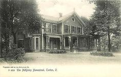 Canton Ohio OH 1905 President McKinley Homestead Rotograph Vintage Postcard