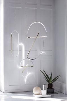 Elkeland mirrormobiles - uro - mobile - dansk design - interior - indretning - bolig - nordiske riger - spejl - dekoration