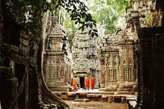 From its ancient temples to its elegant capital and all the rich village life in between, Cambodia is a small country with a big soul, explore a kingdom where family, community and pagoda life reign supreme.