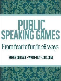 10 free word games to develop public speaking fluency, spontaneity and confidence while having fun: Consider choosing one of these activities for your turn to lead the CLASS CONVERSATION WARM-UP! Public Speaking Activities, Speaking Games, Drama Activities, Public Speaking Tips, Speech Activities, Drama Games, English Speaking Practice, Group Activities, Classroom Activities