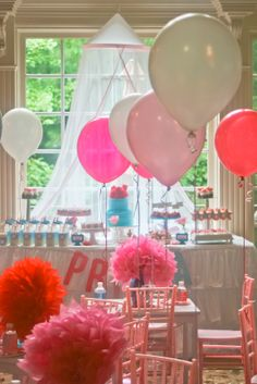 American Girl Themed Party designed and styled by IDEA Event + Style, Kids' Chiavari Chairs by Sweet Seats www.SweetSeatsAtl.com