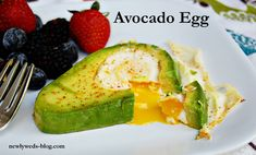 Avocado Egg, simple, delicious breakfast idea