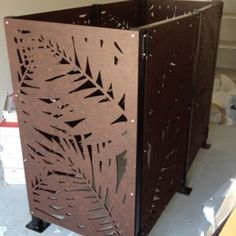 Sanctum design gallery showcases fresh ideas in feature screens & gates Laser Cut Panels, Laser Cut Metal, Metal Panels, Fence Screening, Patio Privacy, Small Space Gardening, Backyard Landscaping, Screens, Metal Working