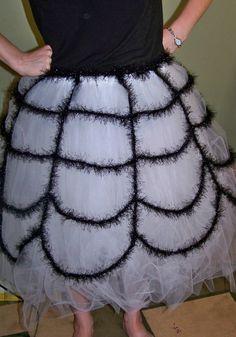 Spider Web Skirt