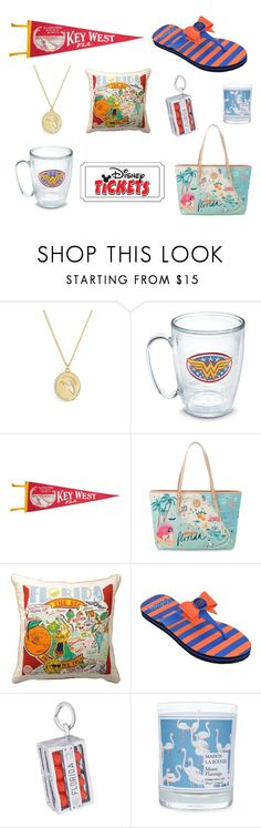 """It's a Florida Thing"" by sassyladies ❤ liked on Polyvore featuring Kate Spade, Spartina 449, Primitives By Kathy, College Edition, Disney, Rembrandt Charms and Maison La Bougie"