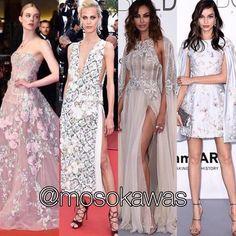 Mosokawas - Fashion Reviews Four Ladies Mosokawas Look: Best Dressed Red Carpet Cannes 2016! Photos: 1- @ellefanning wearing @zuhairmuradofficial; 2- @aymelinevalade wearing @dior; 3- @officialmadalinaghenea wearing @zuhairmuradofficial; 4- @thelumagrothe wearing @ralphandrusso #mosokawas #lookdodia #lookoftheday #moda #estilo #style #insta #fashion #pinterest #ootd #cannes2016 #cannes #redcarpet #zuhairmurad #ellefanning #madalinaghenea #aymelinevalade #dior #ralphandrusso #lumagrothe