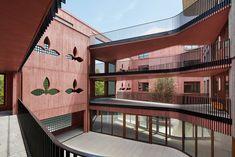 Galli Rudolf Architekten - Erlenmatt East apartment block, Basel 2017. Photos © Ralph Feiner. [[MORE]]