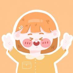 Kawaii Girl Drawings, Kawaii Art, Wall Sticker, Cute Girls, Avatar, Chibi, Cartoon, Wallpaper, Children