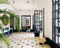 Classical Interior Bright Bold colours