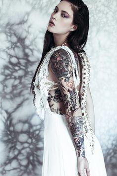 Stormy Oblivion: Ira Chernova by Nando Esparza #tattoo