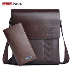 a6ae2785890e ZOROPAUL New Arrival Fashion Business Leather Men Messenger Bags  Promotional Small Crossbody Vintage Shoulder Bag Casual