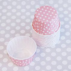 Candy Cups: Ballerina Pink Dots