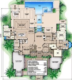 All the Bells and Whistles - 66328WE | 1st Floor Master Suite, Butler Walk-in Pantry, CAD Available, Den-Office-Library-Study, Elevator, Florida, Luxury, MBR Sitting Area, Media-Game-Home Theater, PDF, Southern | Architectural Designs