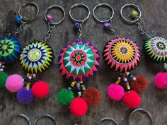 Embroidered Circle Keychains Hmong embroidery by midgetgems 2019 Embroidered Circle Keychains Hmong embroidery by midgetgems The post Embroidered Circle Keychains Hmong embroidery by midgetgems 2019 appeared first on Fabric Diy. Felt Crafts, Fabric Crafts, Sewing Crafts, Felt Embroidery, Embroidery Patterns, Friendship Gifts, Etsy, Crochet Earrings, Creations