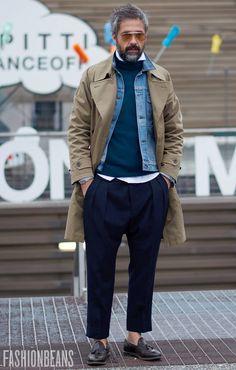 Men's Jacket&Outwear Fashion Trends on Oct 2017