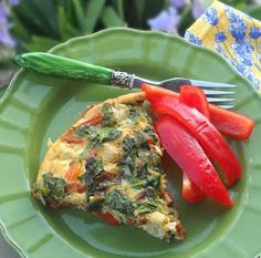 Easy Oven Omelette, gluten-free, dairy-free - The Spunky Coconut Dairy Free Recipes, Paleo Recipes, Crockpot Recipes, Cooking Recipes, Gluten Free, Turkey Recipes, Yummy Recipes, Paleo Breakfast, Breakfast Recipes