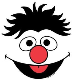 7 best images of sesame street face templates printable sesame sesame street character face templates picture 6 of 6 from sesame street templates maxwellsz