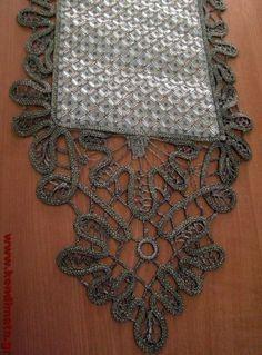 Cross Stitch Embroidery, Diamond, Lace, Jewelry, Greek, Romanian Lace, Jewlery, Jewerly, Schmuck