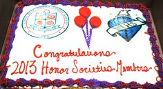 Centura College Honors Society Celebration 2013